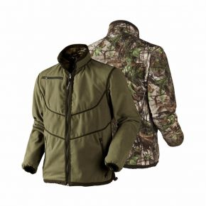 Куртка Harkila Trent Reversible Fleece, Камуфляж (Realtree Xtra Green)